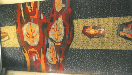 mozaiek rooi